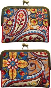 Paisley Coin Purse Kit
